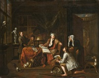 le paiement de la dîme by balthasar van den bossche