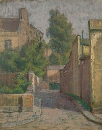 mews in maida vale by kalman kemeny