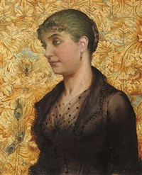 portrait of a lady by ida verner