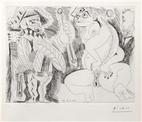 untitled (from series 156) by pablo picasso
