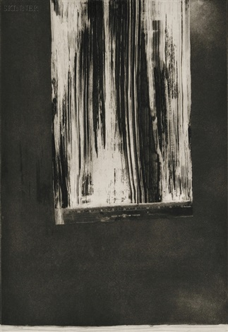untitled ruler ii by jasper johns