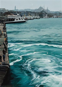 ferry boats by richard estes