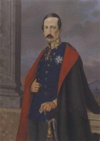 portrait des herzogs franz v. von modena by carlo santiyan y velasco