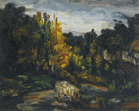 paysage by paul cézanne