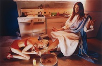 jesus is my homeboy: foot wash by david lachapelle