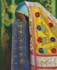 algerian woman by joseph stella