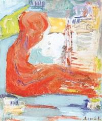 seated figure (+ couple; 2 works) by lili (amalia) arlioti