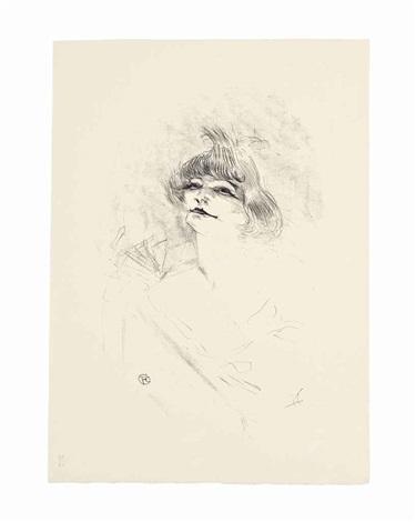 dessins de maitres de francais, ix, henri de toulous-lautrec, 72 dessins chez helleu et sergent editeurs, paris (1 work) by henri de toulouse-lautrec
