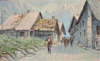 village dans la montagne by bernard rambaud