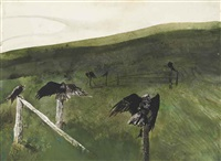 after lunch by andrew wyeth