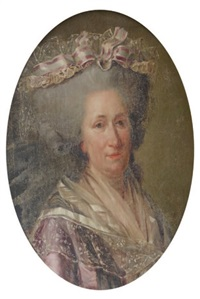 portrait de la duchesse de narbonne by adélaïde labille-guiard