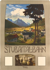 stubaital - bahn by hans josef weber-tyrol