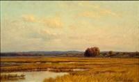 autumn marshes by edmund elisha case