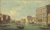 veduta del canal grande by italian school-venetian (19)