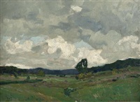 wiesenlandschaft by otto ackermann
