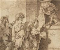 les musiciens ambulants by pierre alexandre wille
