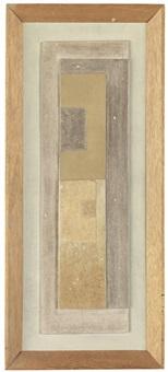 october 1959 (vertical column) by ben nicholson