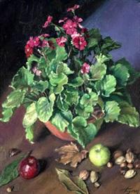 bodegón de flores by jose maria togores