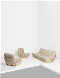 rare quick-change lounge set (from the plurimi series) by gabriella crespi
