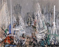le port de la rochelle by junji yamashita
