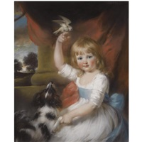 portrait of anne wilson by john russell