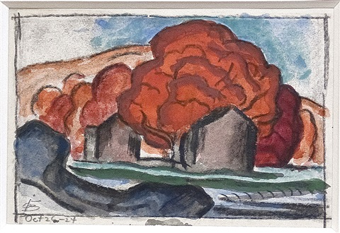 autumn by oscar florianus bluemner