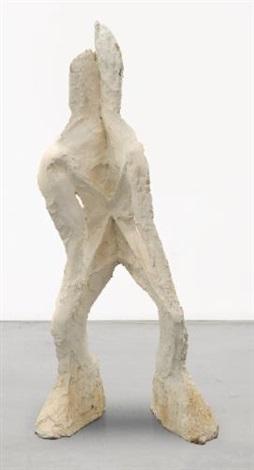folded man by thomas houseago
