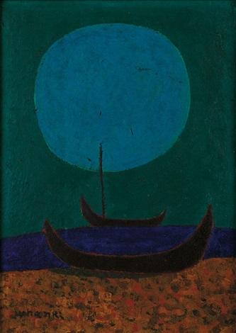 moonlit night by kim whan ki