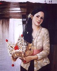 gadis bali (balinese girl) by ronie arto