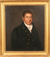 portrait of captain paul cuffee by chester harding