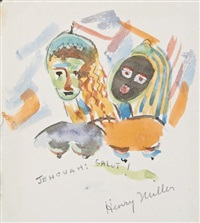 deux têtes by henry miller