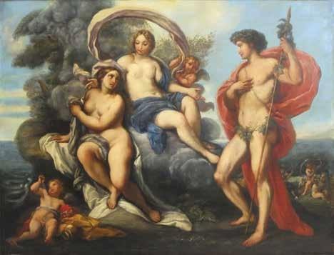 bacchus ariane et venus by guido reni