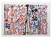 composition by a.r. penck