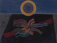 le soleil noir or tremblement de terre by max ernst