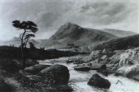 near capel curig, n.w. by thomas morris ash