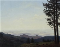 trees on right by christian gotthard hirsch