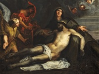 the lamentation of christ by sir anthony van dyck
