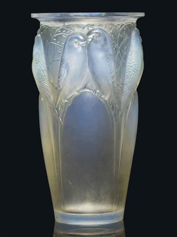 ceylan vase no 905 by rené lalique
