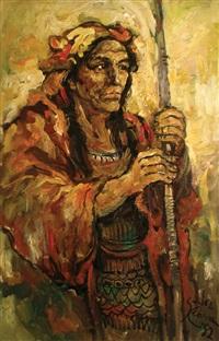 male portrait 01 by salvador cabrera