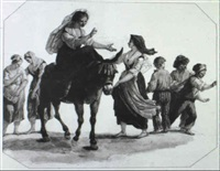 scena rustica by giuseppe mazzola