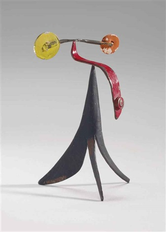 small strong man by alexander calder