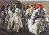 mariage à marrakech by jacques majorelle