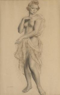 étude de nu (study) by louis buisseret