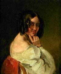 porträt therese malfatti by karl von saar