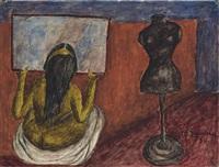 mujer ante el espejo by maría izquierdo