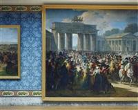 entrée de napoléon à berlin by charles meynier, 1810 - attique du midi, aile du midi - attique château de versailles by robert polidori