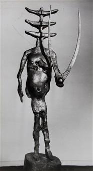 germaine richier, l'échiquier, le roi, 1959 & la tauromachie, 1953 (2 works) by brassaï