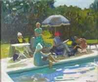 summer afternoon at slingford by charles mccall
