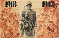 1918-1943 by koekkoek (-unattributable)