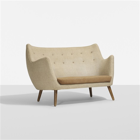 poet sofa by finn juhl on artnet. Black Bedroom Furniture Sets. Home Design Ideas